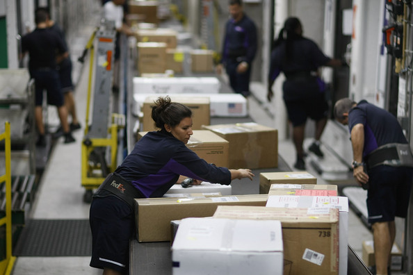 FedEx staff are bracing for a record Cyber Monday hoping to ship over 22 million packages.