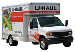 U-Haul has begun modifying certain 14' trucks in LA County by equipping them with propane fuel tanks.