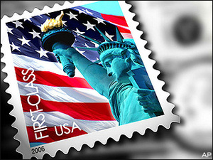 The cost of stamps will increase on January 26, 2014.